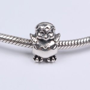 PANDORA Silver Hatching Easter Chick Egg Charm